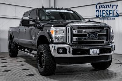 2015 Ford Super Duty F-350 SRW Lariat Leveled Deleted
